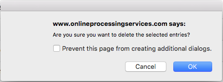 Are you sure you want to delete homepage entries of your JAMSpiritSites cheer website? Select OK to do so.